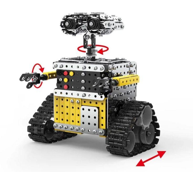 Roboter-Bausatz Richtung der Bewegung