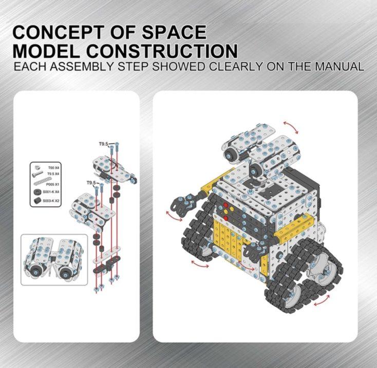 Roboter Bausatz Anleitung