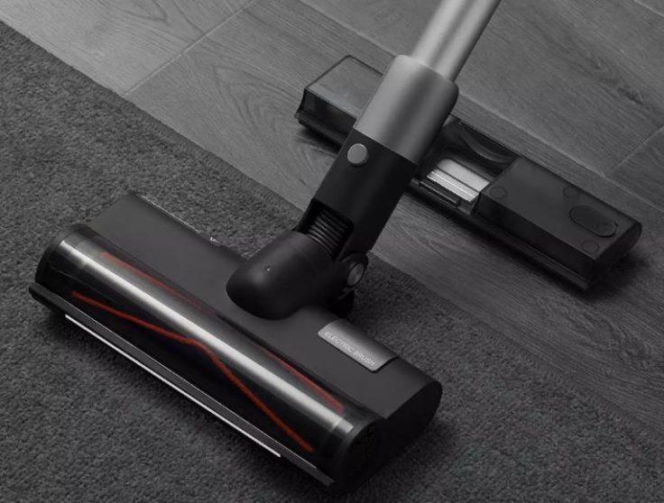 Roidmi NEX 2 Pro Akkustaubsauger gleichzeitig saugen wischen