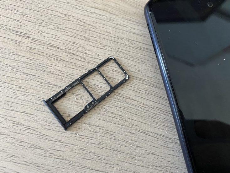 Samsung Galaxy A51 SIM-Slot