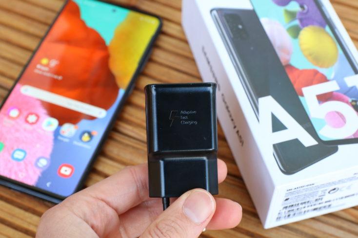 Samsung Galaxy A51 Smartphone Ladegeraet