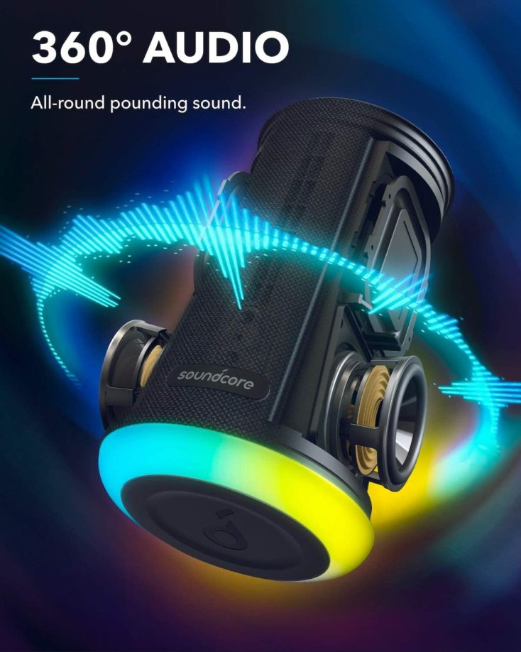 Soundcore Flare Mini 360 Grad Sound