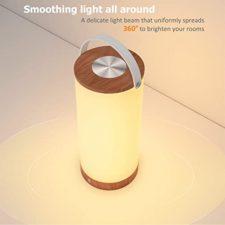 TaoTronics Nachttischlampe