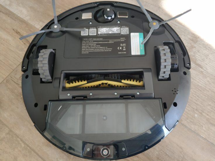 Tesvor M1 Saugroboter Unterseite