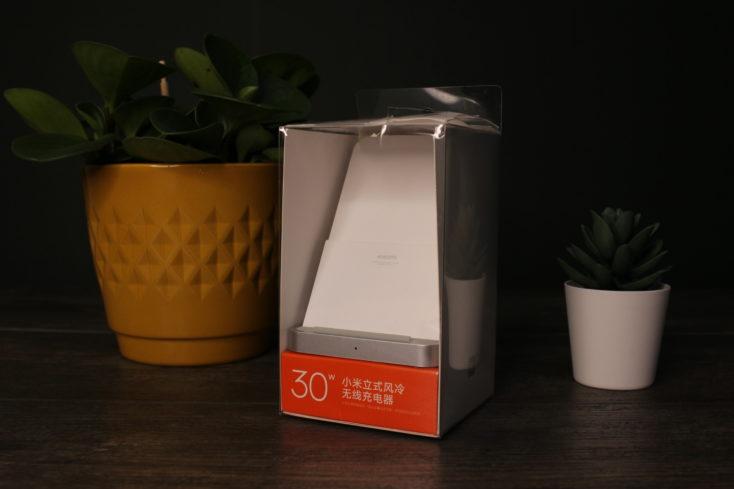 Xiaomi 30W Qi Ladegeraet Verpackung