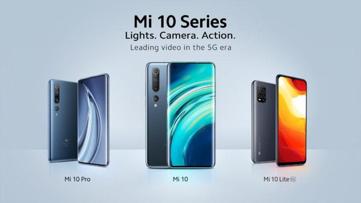 Xiaomi Mi 10 Lite 5G Smartphone Serie
