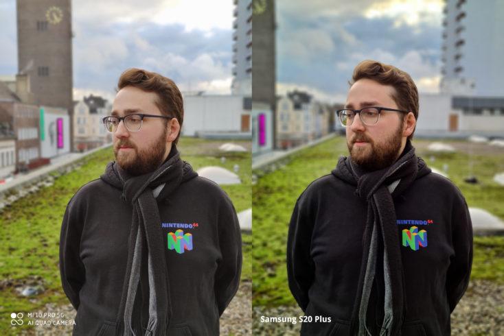 Xiaomi Mi 10 Pro Portraitkamera Vergleich Samsung