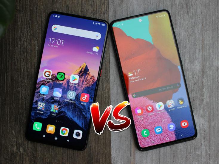Xiaomi Mi 9T vs Samsung Galaxy A51