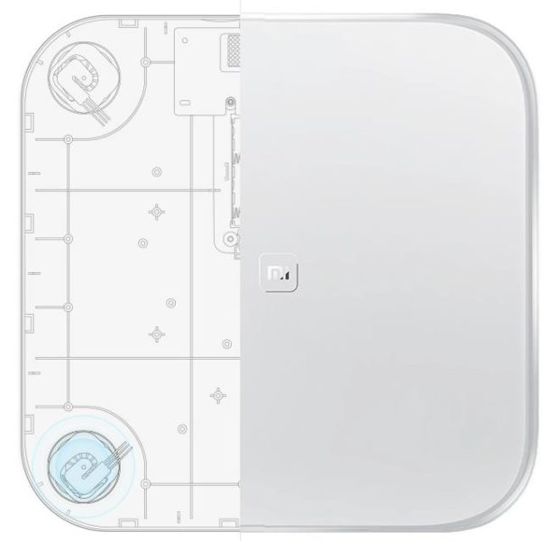 Xiaomi Mi Weight Scale 1 Personenwaage Design