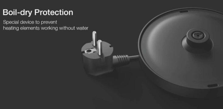 Xiaomi Viomi Wasserkocher Sockel