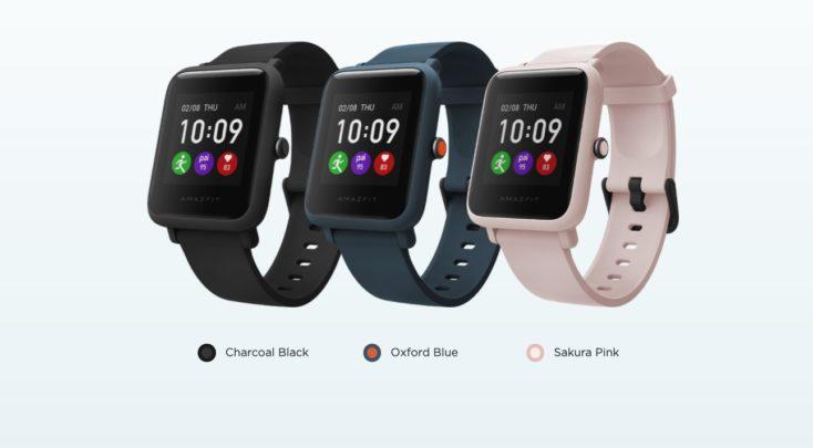 Amazfit Bip S Lite Smartwatch Farben