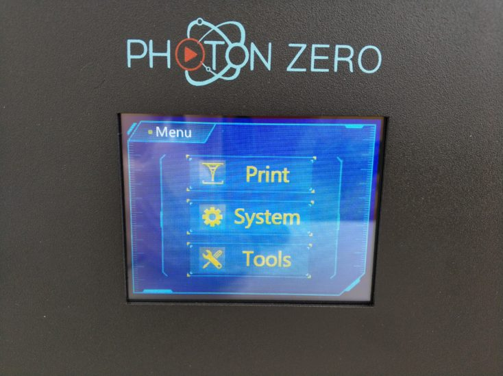 Anycubic Photon Zero Display