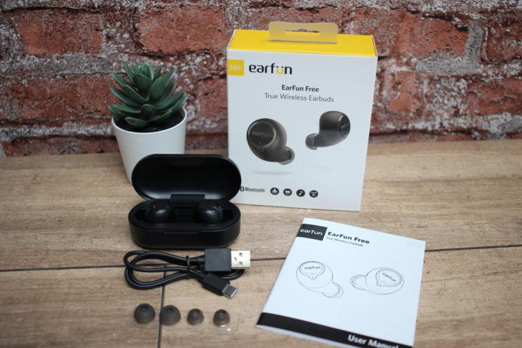 Earfun Free wireless In-Ears Lieferumfang