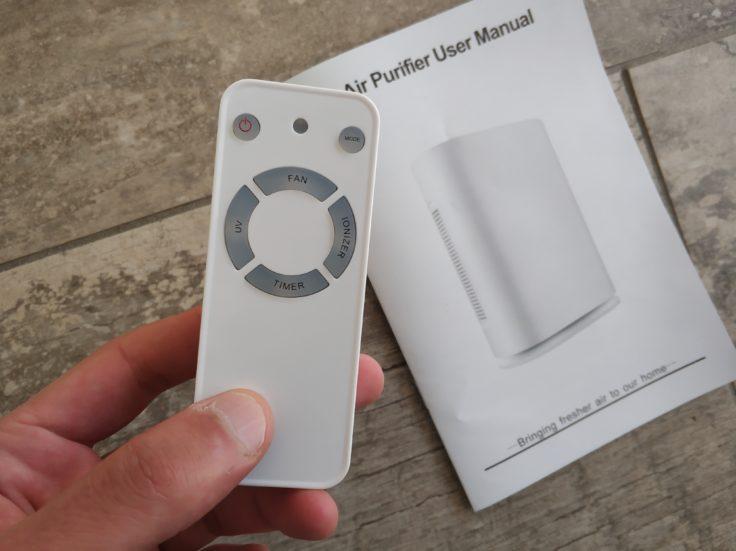 Geekbes Air Purifier Luftreiniger Fernbedienung