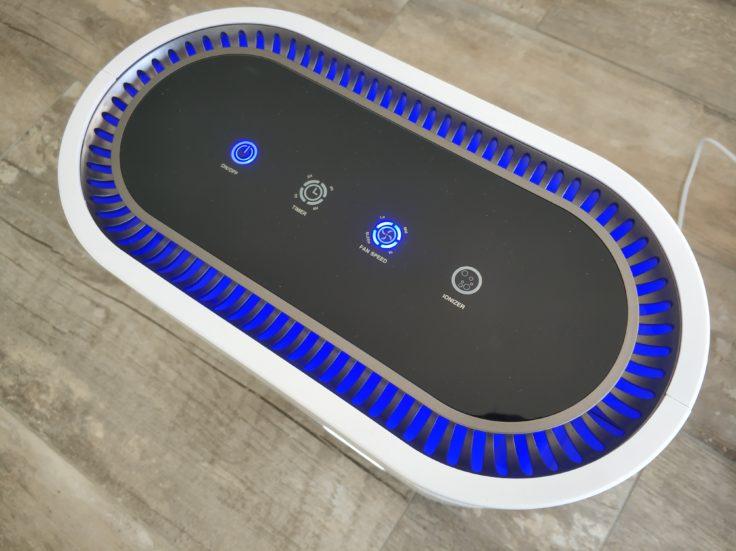 Geekbes Air Purifier Luftreiniger Oberseite Modus