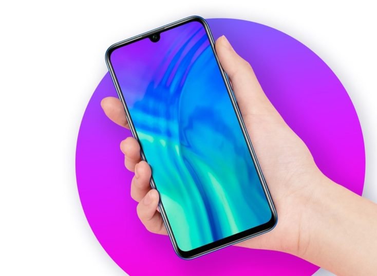 Honor 20E Smartphone Design