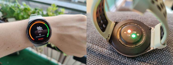 Huawei Watch GT 2e Blutsauerstoff