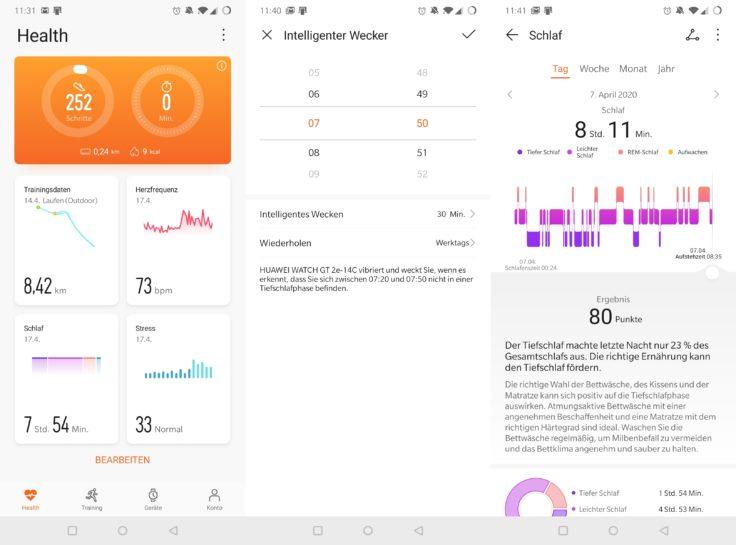 Huawei Watch GT 2e Huawei Health App