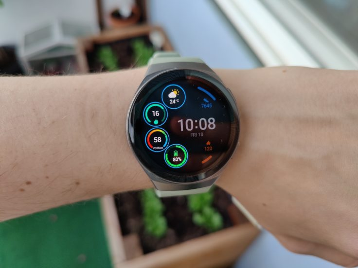 Huawei Watch GT 2e Watchface Widgets