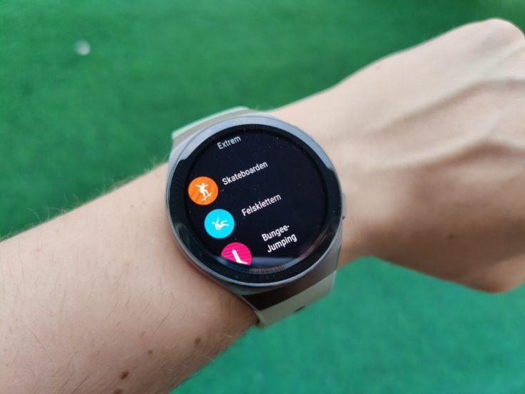 Huawei Watch GT 2e neue Sportmodi
