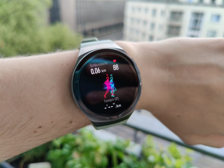 Huawei Watch GT 2e virtueller Pacemaker