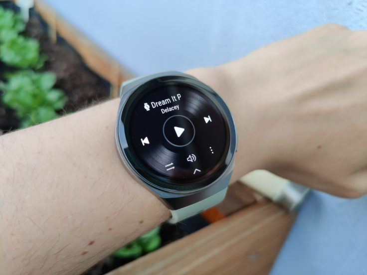 Huawei watch GT 2e Musik