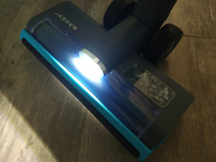 Jashen Akkustaubsauger LED Leuchten Einsatz