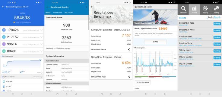 OnePlus 8 Pro Benchmarks