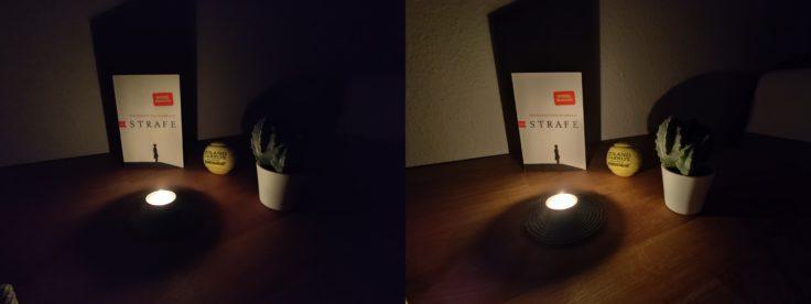 OnePlus 8 Pro Nachtmodus Ultraweit