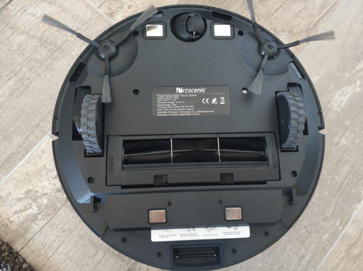 Proscenic M7 Pro Saugroboter Unterseite