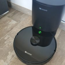 Proscenic M7 Pro Saugroboter an Absaugstation