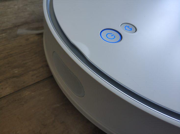 Qihoo 360 S6 Pro Saugroboter Bedienelemente Oberseite