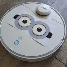 Qihoo 360 S6 Pro Saugroboter Minion-Augen Sticker