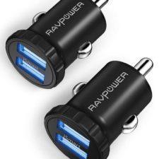 RAVPower Doppelpack Auto USB Port