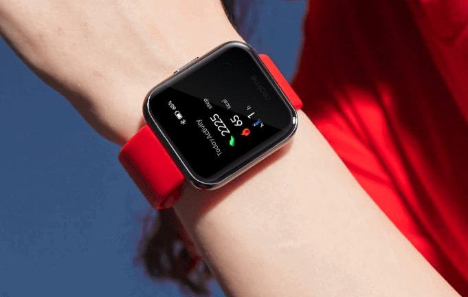 Realme Smartwatch Armband Rot