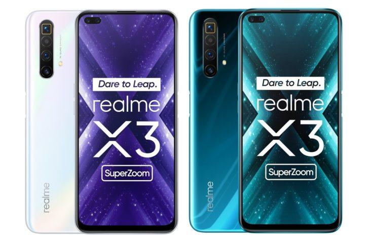 Realme X3 SuperZoom Smartphones