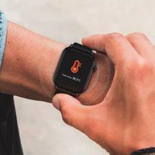 TICWRIS GTS Smartwatch an Hand