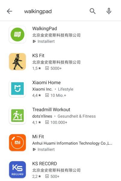 WalkingPad App