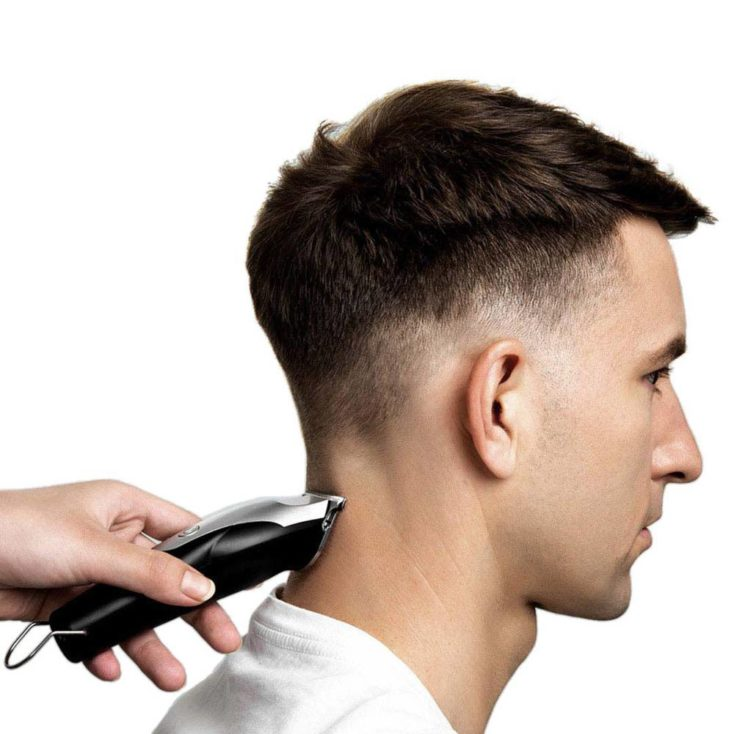 Xiaomi Enchen Hummingbird Haarschneidemaschine beim Rasieren