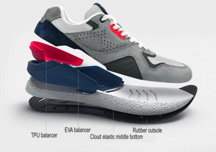 Xiaomi Mijia Retro Sneaker Zusammensetzung