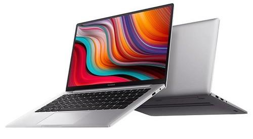 Xiaomi RedmiBook 14 Laptop Front und Seitenansicht