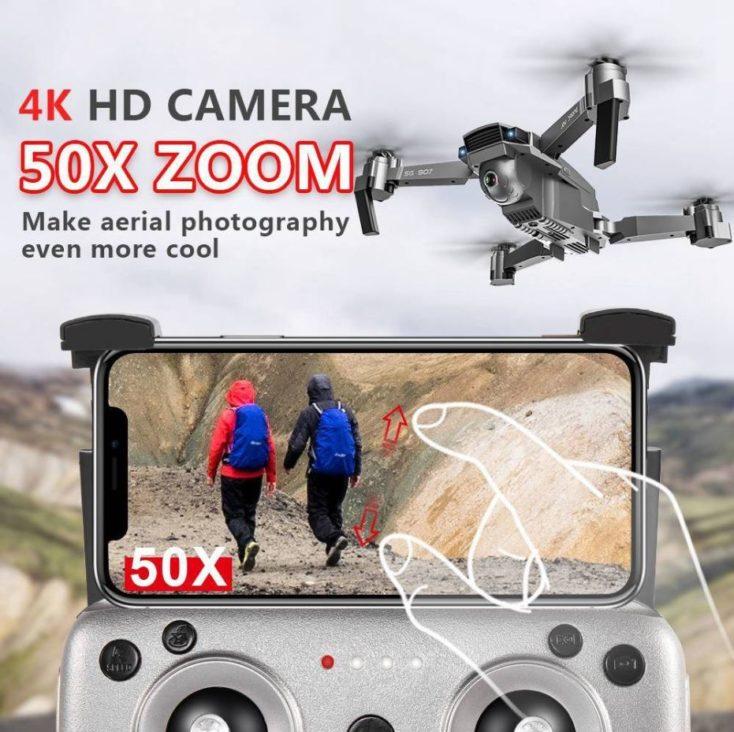 4K HD Camera 50x Zoom Drohnen Werbung