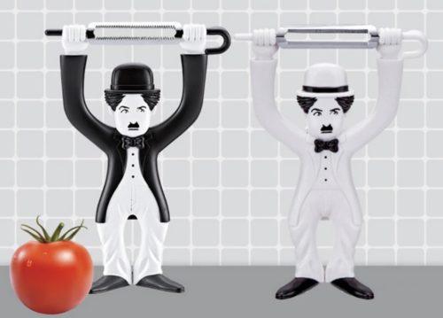 Charlie Chaplin schwarz weiss