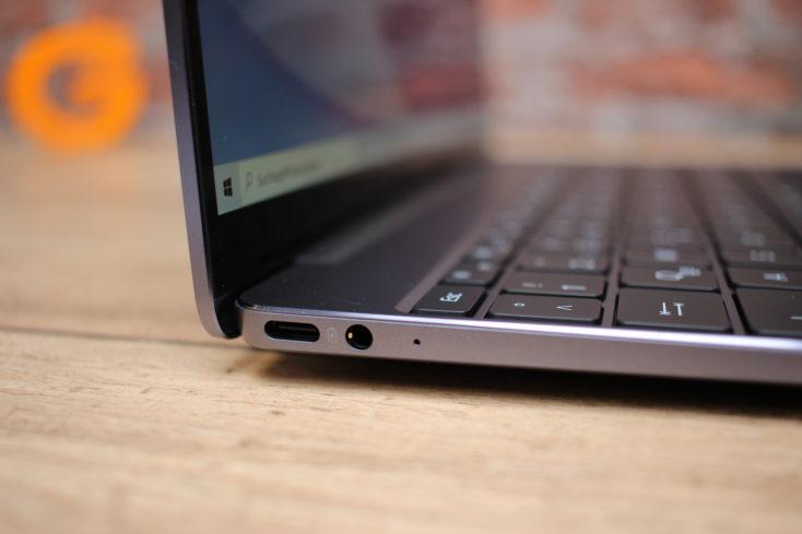 Huawei Matebook 13 Anschluesse Links
