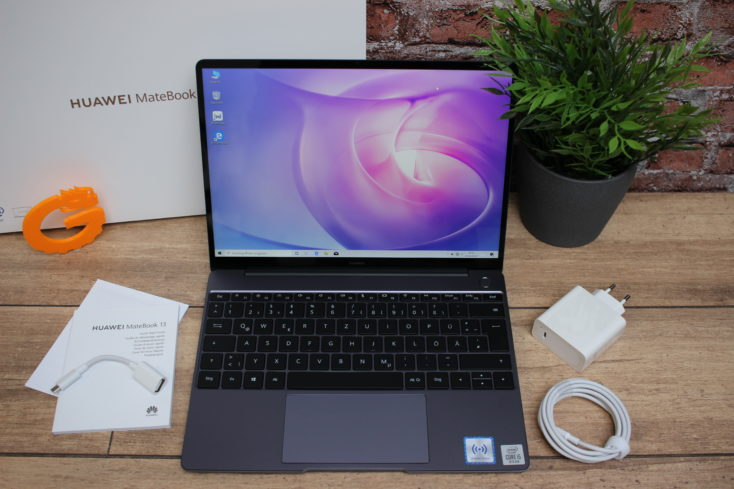 Huawei Matebook 13 Lieferumfang