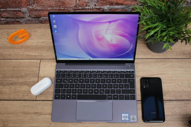 Huawei Matebook 13 QWERTZ-Tastatur