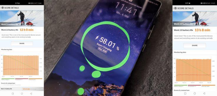Huawei P40 Pro Akku laden