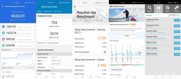 Huawei P40 Pro Benchmarks