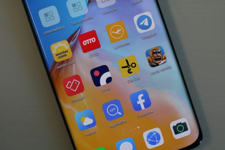 Huawei P40 Pro Display nah