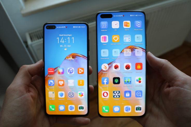 Huawei P40 Smartphone vs Huawei P40 Pro